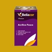 Tinta Acrílica Fosca Premium B52 Amarelo Dourado 16L Bellacor
