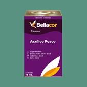 Tinta Acrílica Fosca Premium B56 Mergulho Verde 16L Bellacor