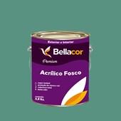 Tinta Acrílica Fosca Premium B56 Mergulho Verde 3,2L Bellacor