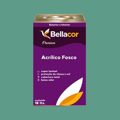 Tinta Acrílica Fosca Premium B57 Verde Encantado 16L Bellacor