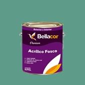 Tinta Acrílica Fosca Premium B57 Verde Encantado 3,2L Bellacor