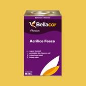 Tinta Acrílica Fosca Premium B65 Mostarda Americana 16L Bellacor