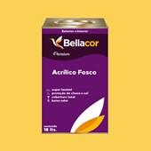Tinta Acrílica Fosca Premium B66 Mostarda 16L Bellacor