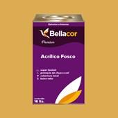 Tinta Acrílica Fosca Premium B77 Mostarda Francesa 16L Bellacor