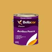 Tinta Acrílica Fosca Premium B77 Mostarda Francesa 3,2L Bellacor