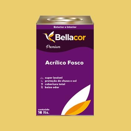 Tinta Acrílica Fosca Premium B78 Deserto 16L Bellacor