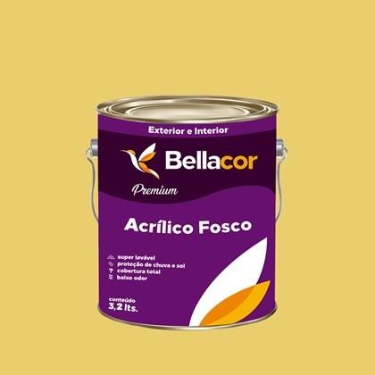 Tinta Acrílica Fosca Premium B78 Deserto 3,2L Bellacor