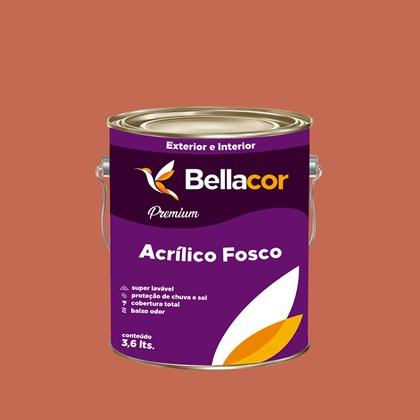 Tinta Acrílica Fosca Premium B87 Romeu e Julieta 3,2L Bellacor