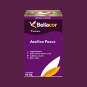 Tinta Acrílica Fosca Premium C01 Creme de Ameixa 16L Bellacor