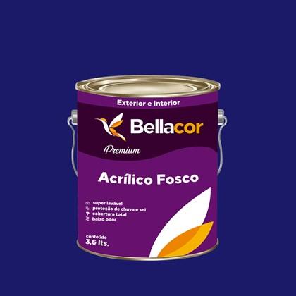 Tinta Acrílica Fosca Premium C10 Luz do Luar 3,2L Bellacor