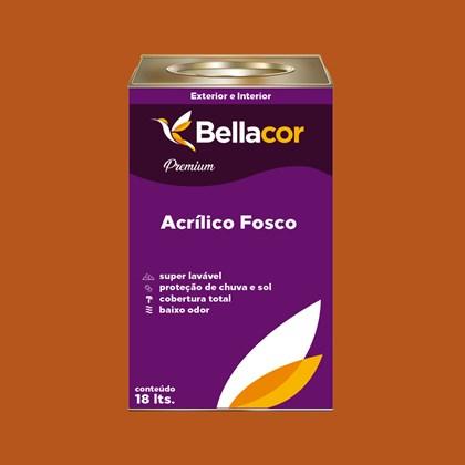 Tinta Acrílica Fosca Premium C100 Café Espresso 16L Bellacor