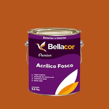 Tinta Acrílica Fosca Premium C100 Café Espresso 3,2L Bellacor