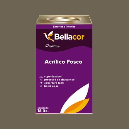 Tinta Acrílica Fosca Premium C106 Ganache 16L Bellacor