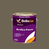 Tinta Acrílica Fosca Premium C106 Ganache 3,2L Bellacor