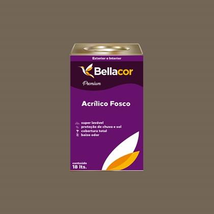 Tinta Acrílica Fosca Premium C108 Cinza Tabapuã 16L Bellacor
