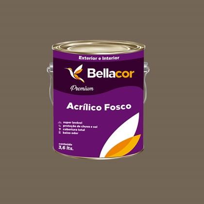 Tinta Acrílica Fosca Premium C108 Cinza Tabapuã 3,2L Bellacor