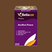 Tinta Acrílica Fosca Premium C109 Chocolate Amargo 16L Bellacor