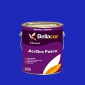 Tinta Acrílica Fosca Premium C11 Azul Safira 3,2L Bellacor