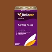 Tinta Acrílica Fosca Premium C110 Marrom Bombom 16L Bellacor