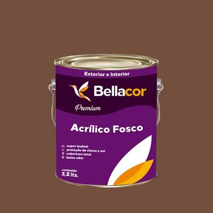Tinta Acrílica Fosca Premium C111 Chilli 3,2L Bellacor