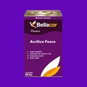 Tinta Acrílica Fosca Premium C15 Roxo 16L Bellacor