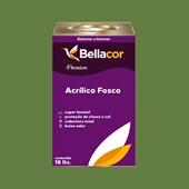Tinta Acrílica Fosca Premium C19 Verde Jacaré 16L Bellacor