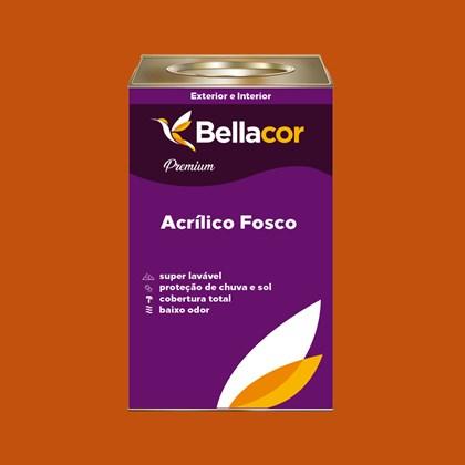 Tinta Acrílica Fosca Premium C28 Laranja 16L Bellacor