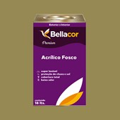 Tinta Acrílica Fosca Premium C31 Verde Oliva 16L Bellacor