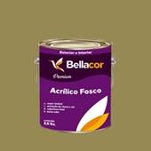 Tinta Acrílica Fosca Premium C31 Verde Oliva 3,2L Bellacor