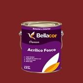 Tinta Acrílica Fosca Premium C37 Vermelho Sangue 3,2L Bellacor