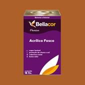 Tinta Acrílica Fosca Premium C40 Marrom Terra 16L Bellacor