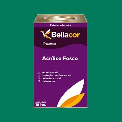Tinta Acrílica Fosca Premium C43 Verde Sálvia 16L Bellacor