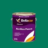 Tinta Acrílica Fosca Premium C43 Verde Sálvia 3,2L Bellacor