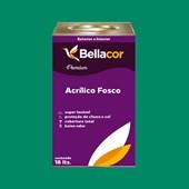 Tinta Acrílica Fosca Premium C44 Verde Irlandês 16L Bellacor
