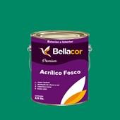 Tinta Acrílica Fosca Premium C44 Verde Irlandês 3,2L Bellacor