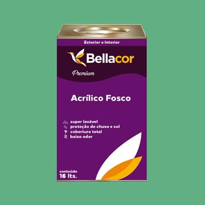 Tinta Acrílica Fosca Premium C45 Esmeralda 16L Bellacor
