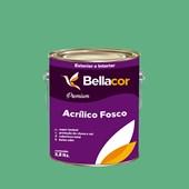 Tinta Acrílica Fosca Premium C45 Esmeralda 3,2L Bellacor