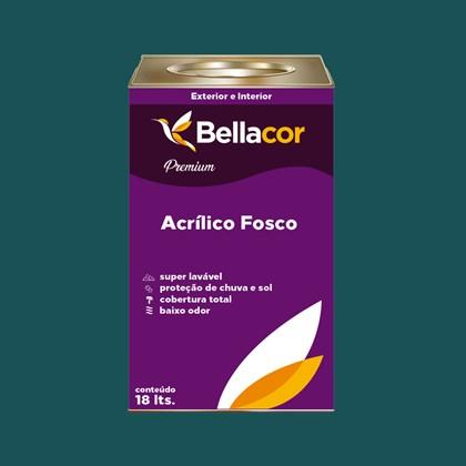 Tinta Acrílica Fosca Premium C47 Azul Pernambuco 16L Bellacor