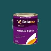 Tinta Acrílica Fosca Premium C47 Azul Pernambuco 3,2L Bellacor