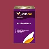 Tinta Acrílica Fosca Premium C63 Geleia de Amora 16L Bellacor
