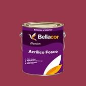 Tinta Acrílica Fosca Premium C63 Geleia de Amora 3,2L Bellacor