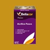 Tinta Acrílica Fosca Premium C64 Amarelo Queimado 16L Bellacor