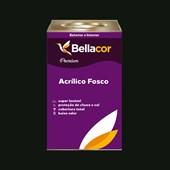 Tinta Acrílica Fosca Premium C67 Verde Escuro 16L Bellacor