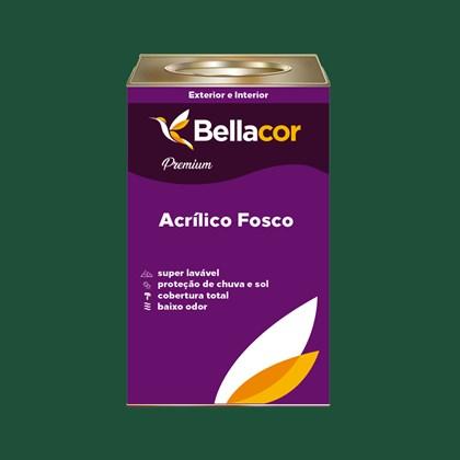 Tinta Acrílica Fosca Premium C68 Verde Floresta 16L Bellacor