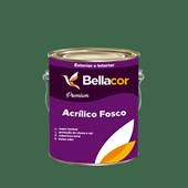 Tinta Acrílica Fosca Premium C69 Verde Exército 3,2L Bellacor