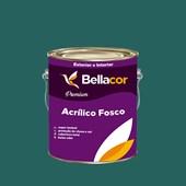 Tinta Acrílica Fosca Premium C70 Azul de Paúba 3,2L Bellacor