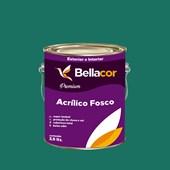 Tinta Acrílica Fosca Premium C71 Azul Continental  3,2L Bellacor