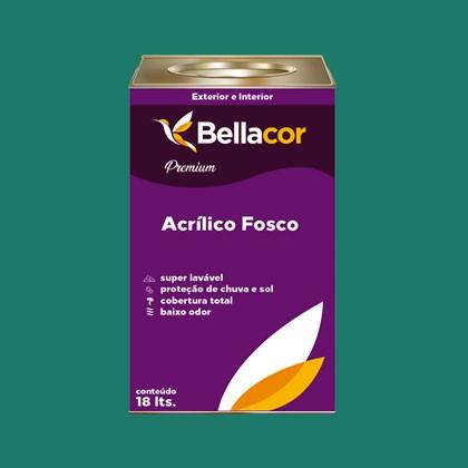 Tinta Acrílica Fosca Premium C72 Mergulho Azul 16L Bellacor