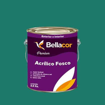 Tinta Acrílica Fosca Premium C72 Mergulho Azul 3,2L Bellacor