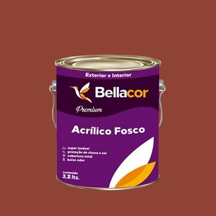 Tinta Acrílica Fosca Premium C73 Chocolate com Pimenta 3,2L Bellacor